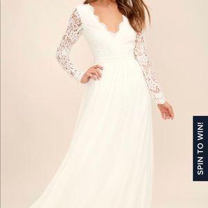 Lulus awaken my love long sleeve dress
